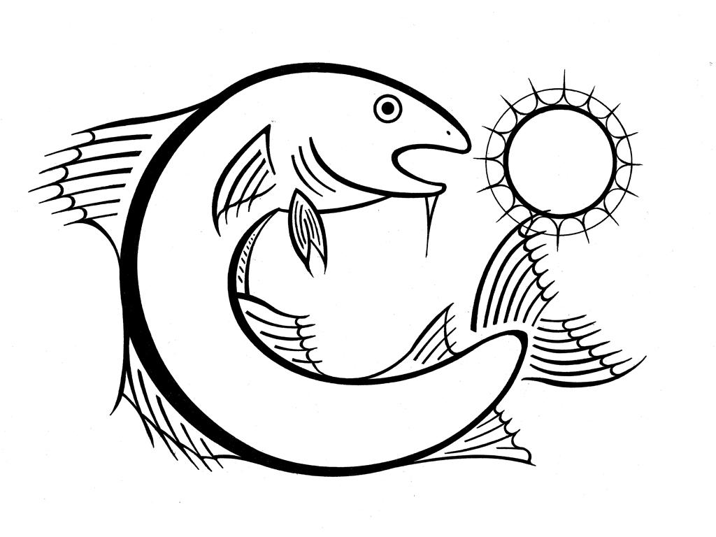 12codfisheatingthemoon