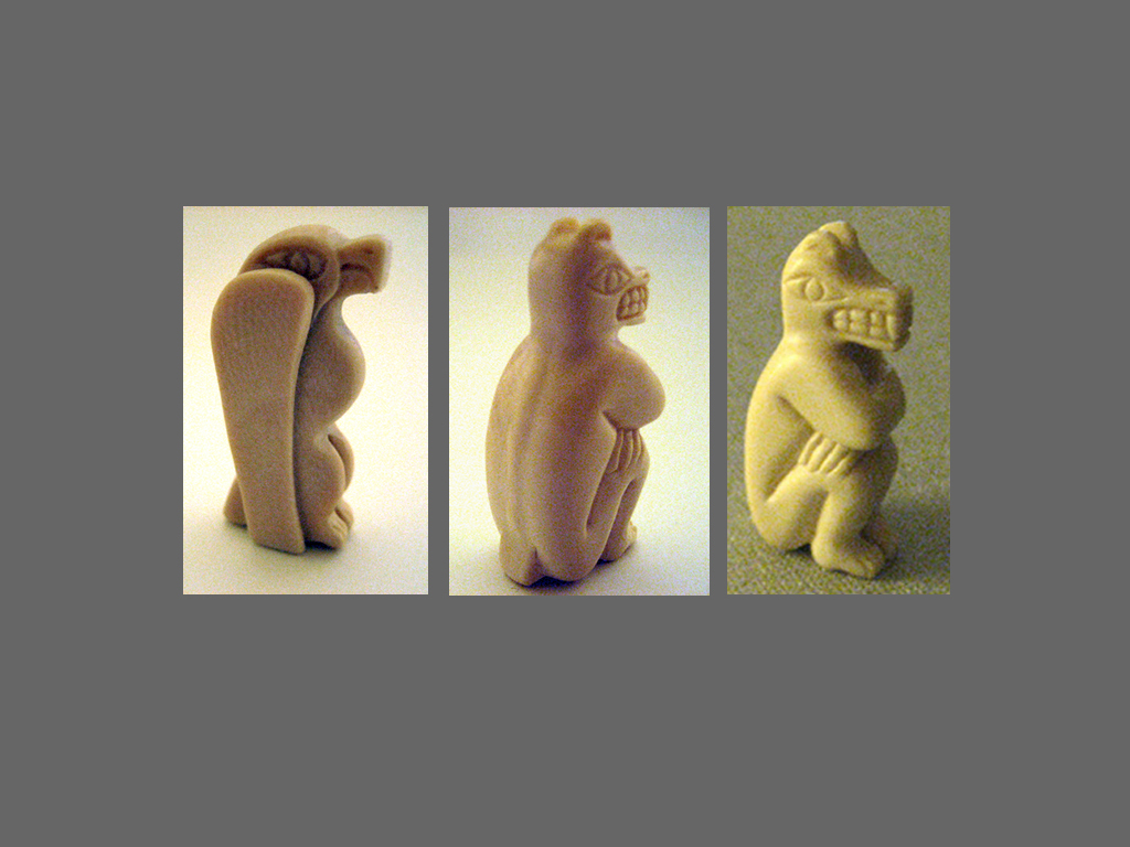 Mastadon Ivory Carvings